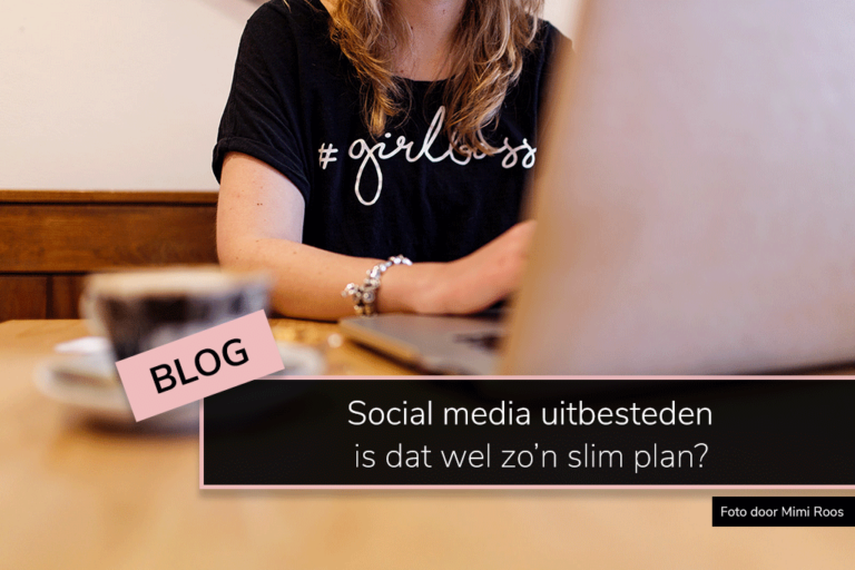 Social media uitbesteden: is dat wel zo'n slim plan?